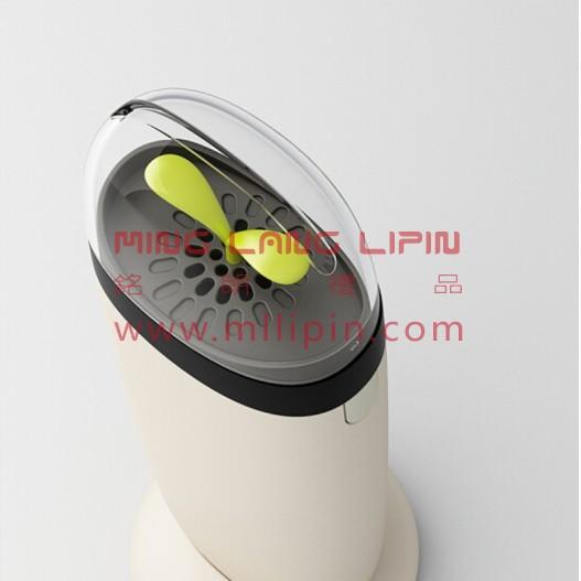 风格派能量净化宝CE012WEVE伊娃负离子空气净化器创意礼品移动电源 4500毫安 米白