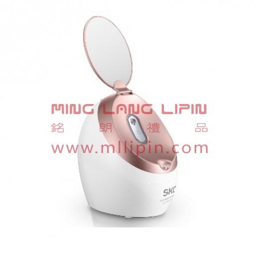 SKG 蒸脸器热喷美容仪 大雾热喷 家用补水仪纳米喷雾美容器离子蒸脸仪双面镜翻盖
