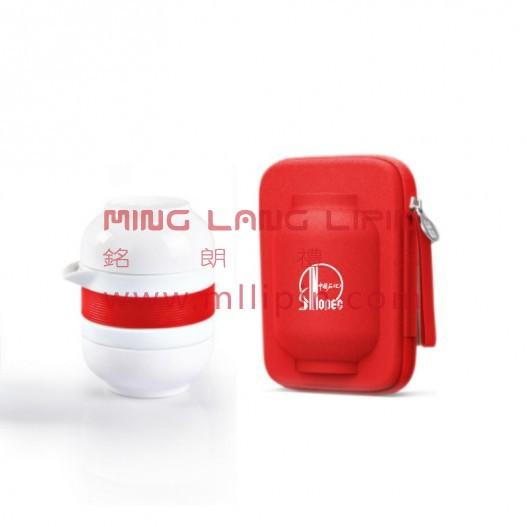 原初格物 华灯陶瓷快客杯便携旅行功夫茶具套装送客户高档礼品定制企业LOGO