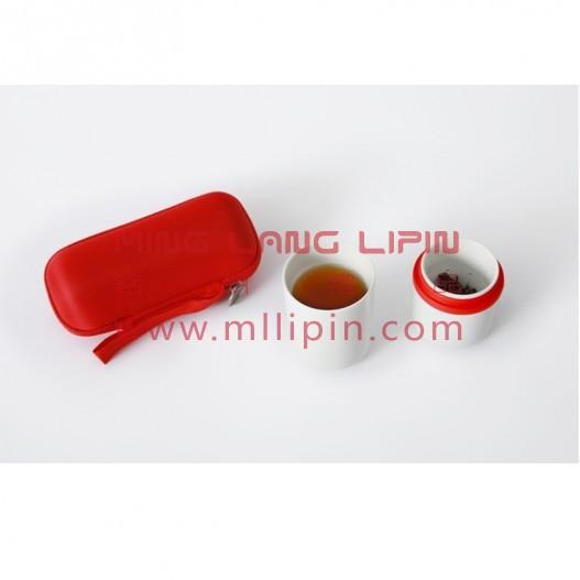 原初格物陶瓷便携随身同心杯快客杯茶具送客户商务礼品积分礼品