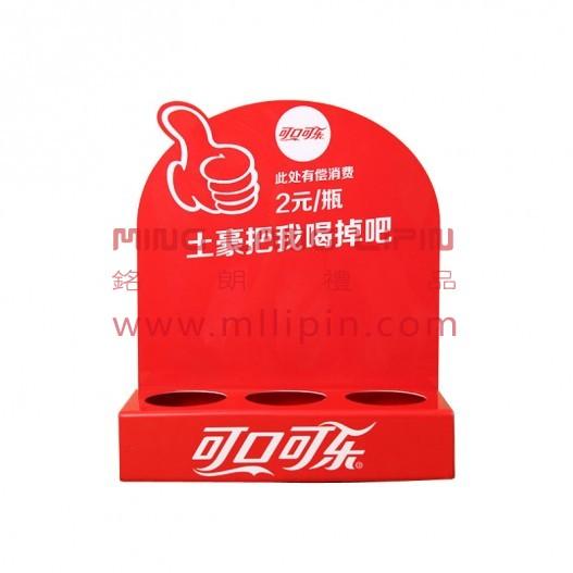 广告展示牌桌面立牌 pvc立牌企业宣传物业定制展示牌