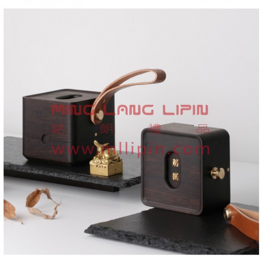 西冷印社方物便携文盒中国风文化礼品中国特色礼物高档商务礼品送老外客户礼品