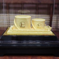 中国石化绒沙金机械工艺模型定制产品模型定制企业纪念收藏礼品定制