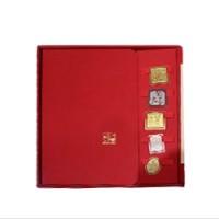 仁义礼智信手账笔记本书签礼盒套装中国风礼品商务礼品送老外礼品定制