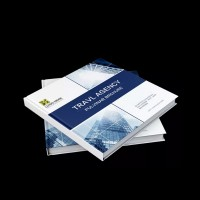 精装画册企业画册公司宣传册设计印刷成册企业物料展会宣传物料制作