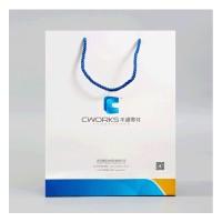 手提纸袋定制白卡纸企业宣传礼品袋手提袋服装购物纸袋LOGO印刷