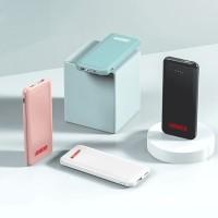 无线充电宝10000毫安带双口USB充电大容量移动电源商务拜访礼品展会礼品送客户