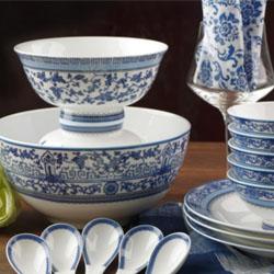 新中式/ 青花瓷经典 高档艺术餐具