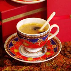 盛宴 咖啡对杯 高档陶瓷咖啡具