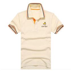 永和豆浆工作T恤 定做全棉翻领短袖polo衫