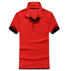 丰谷酒业工作服polo衫定做印刷logo广告衫