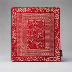 中国剪纸 丝绸鼠标垫 中国风礼品 政府外事礼品 企业展会礼品