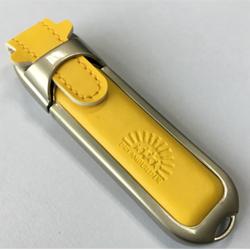 皮革钢边 礼品U盘 企业商务礼品 展会宣传礼品 广告促销礼品 会议纪念礼品