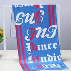 超细纤维运动毛巾 体育用品定做 运动礼品定做 活动纪念礼品定做 蓝球足球运动毛巾