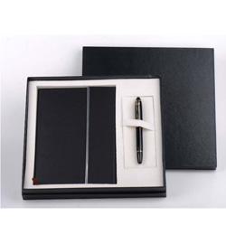 公爵GJ1005笔记本+两用笔(钢笔+宝珠)办公商务套装送客户礼品