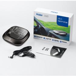 车载空气净化器(黑色)海尔KJBA03 送客户礼品 员工福利礼品 定制企业LOGO