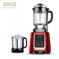 SKG养生料理机+干磨杯 2092 破壁料理机加热家用养生机辅食机多功能变频