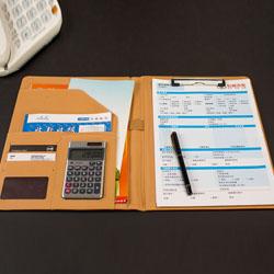 效率手册多功能经理夹文件夹合同夹销售夹定制LOGO商会礼品展会礼品定制