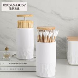 自动按压式棉签筒Jordan & Judy創意生活紀念禮品活動紀念禮品創意促銷禮品定制