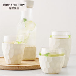 凉水瓶玻璃杯Jordan & Judy創意生活年會員工福利活動紀念禮品定制
