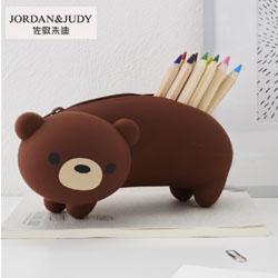Jordan & Judy多卡通硅胶笔袋時尚創意禮品紀念禮品活動禮品展會禮品定制