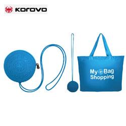 多功能收纳购物袋  korovo壳罗沃X4901活動禮品展會禮品企業慶典禮品拜訪禮