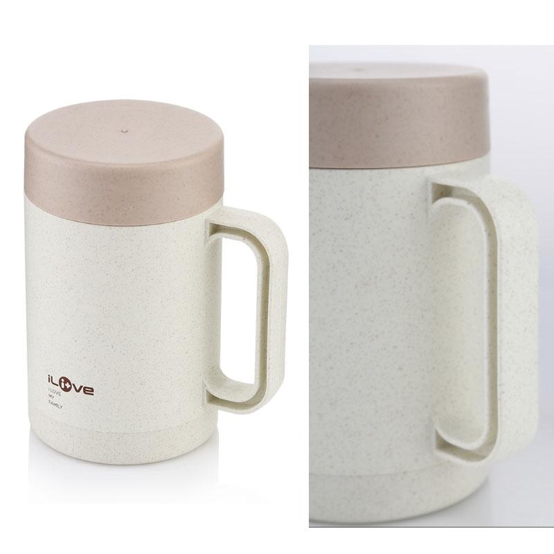 ilive LF-A075 麦香秸秆环保 陶瓷办公杯 节能环保礼品创意时尚礼品定制公司