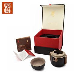 台湾陆宝茶具 如意随手泡旅行茶组 一壶一杯 商务礼品中国风礼品公司送客户