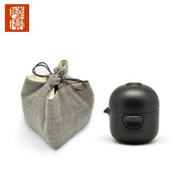 台湾陆宝转意随手泡 170ml一壶一杯旅行茶组客户随访礼品商务礼品公司定制礼品