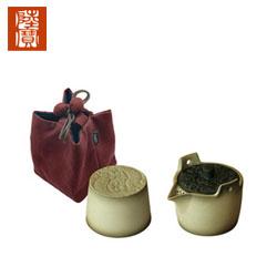 陆宝茶具幸福一辈子 一壶一杯 旅行组快客中国风商务随访礼品公司送客户送领导礼品
