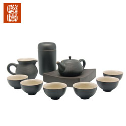台湾陆宝尊爵茶礼茶具 一壶六杯配壶承茶盘高档商务礼品送客户企业礼品定制公司
