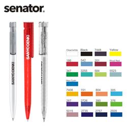 http://mllipin.com/senator德国进口LIBERTY透明中性笔水笔签字笔 展会促销笔广告定制笔企业礼品公司