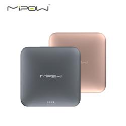 http://mllipin.com/mipow SPL09苹果x移动电源MFi认证9000毫安便携自带线超薄充电宝 深灰色
