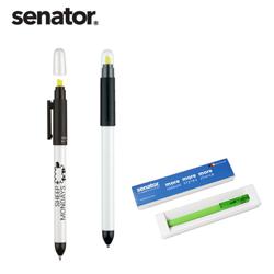 SENATOR德国DUO PEN荧光 圆珠两用笔创意展会宣传广发礼品定制公司