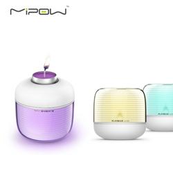MIPOW智能香薰蜡烛灯智能声控吹气拍打可变色智能创意时尚礼品