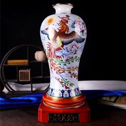 凤舞飘香景泰蓝戴嘉林老师作品高档收藏工艺纪念礼品送老外礼品公司