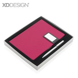 Prestige 磁性扣笔记本套装商务礼品两件套展会商务随手礼品