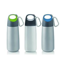 迷你都市单层不锈钢登山扣水壶创意礼品水杯员工福利展会礼品公司