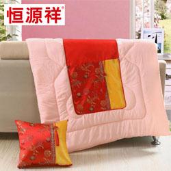 新型靠垫被CYZ1006恒源祥枕头员工福利礼品年会抽奖礼品公司