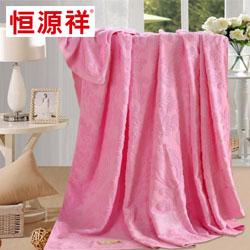 全棉毛巾被HYXM101恒源祥枕头员工福利礼品年会抽奖礼品公司