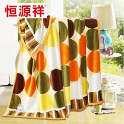 法莱绒毯时尚圈圈MQ1025恒源祥枕头员工福利礼品年会抽奖礼品公司