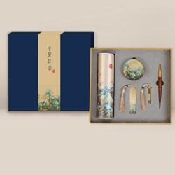 http://mllipin.com/千里江山五件套中国风文化礼品企事业外事礼品送外宾礼品定做LOGO