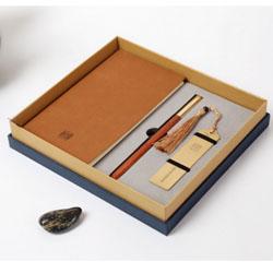 中国风耕读三件套文化礼品外事礼品送外宾礼品公司 定做LOGO