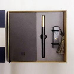 中国风耕读三件套 (笔记本+16gU盘+立定笔 )文化礼品外事礼品定做LOGO