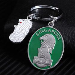 个性钥匙扣定制个企业展会宣传礼品员工表彰纪念收藏礼品定制