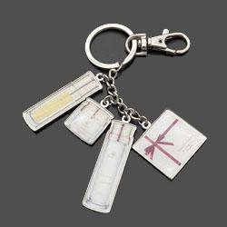 创意钥匙扣定制企业展会礼品员工周年礼品会议纪念礼品定制LOGO