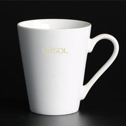 V型陶瓷杯定制员工生日礼品展会促销礼品促销礼品伴手礼定制LOGO