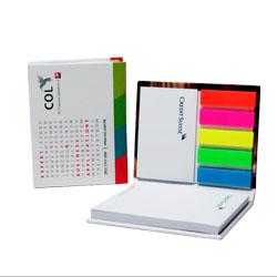创意硬封面便利贴 纪念便利贴展会礼品商务伴手礼定制LOGO