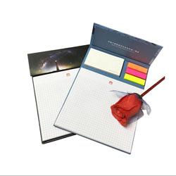 创意书纸便签本 周年庆典企业促销便签本展会礼品商务随手礼品定制
