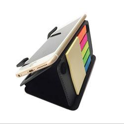 可折叠多功能手机座便签手机支架便利贴展会礼品商务伴手礼定制LOGO